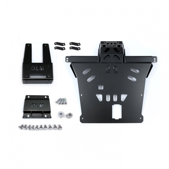 Winch mounting plate overlimit