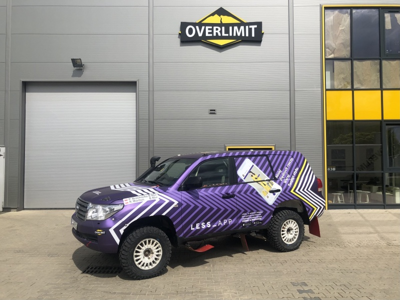 Toyota Land Cruiser overlimit